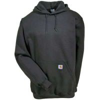 K121CHH Men's Grey Midweight Carhartt Hooded Sweatshirt