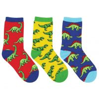 Socksmiths Kids Dino-Mite! 3-Pack Socks KC7004
