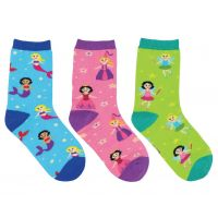 SockSmith Kids Happily Ever After 3 Pack Socks KC70584