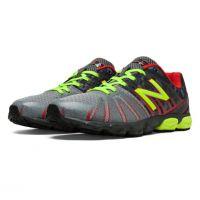 New Balance KJ890RGP Grey/ Red Kids Athletic KJ890RGP