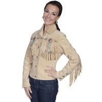 Scully Boar Suede Fringe Womens Jacket L152