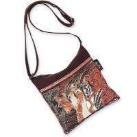 Sun 'N' Sand Laurel Burch Moroccan Mares Crossbody Bag LB2015