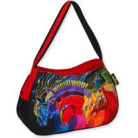 Sun 'N' Sand Wild Horses Of Fire Medium Hobo Bag LB4843