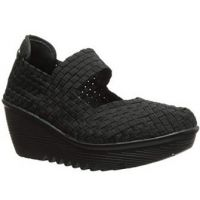 Bernie Mev Lulia Black Super-Lightweight Womens Comfort Wedge LULIA-BLACK