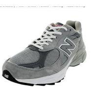 New Balance M990 Pigskin/Mesh upper Grey Mens Running  M990GL3