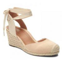 Vionic Light Tan Maris Womens Comfort Wedge Sandals MARIS