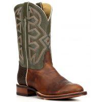 MD5321 Cognac Frida Green Shaft Nocona Mens Western Boots