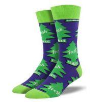 SockSmith Purple Mens Freshen Up Socks MNC1534