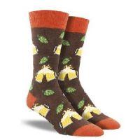 SockSmith Brown Men's Hoppier Together Socks MNC1619