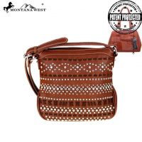 Montana West Bling-Bling Collection Concealed Handgun Crossbody Bag MW455G-8395