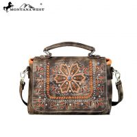 Montana West Embroidered Collection Top Handle Crossbody MW595-8102