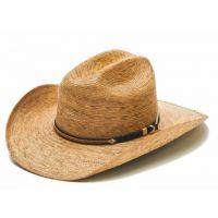 California Hat Company Palm Leaf Straw Unisex Western Hat MX-840