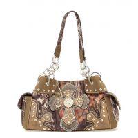 N74372 Camo M&F Western Womens Moss Oak Handbag