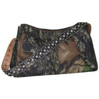 N74376 Mossy Oak Camouflage Womens Handbag With Rhinestone and Stud Accents