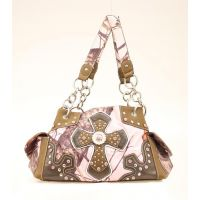 N7470630 Pink M&F Western Womens Moss Oak Handbag