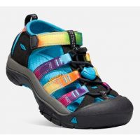 Keen Rainbow Tie Dye Newport H2O Little Kids Shoes 1018447