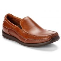 Vionic Tan Preston Slip On Mens Dress Loafers PRESTON