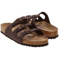 R53901 FLORIDA Oiled Leather Soft Footbed Women's Birkenstock Sandals