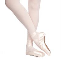 Rubin U-Cut Pointe Shoes with Front Drawstring Russian Pointe Shoes