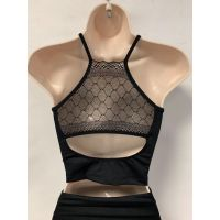 So'Danca Diamond Lace Adult Cami Top RDE-1919