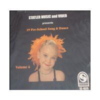 SCD4020 19 PRE-SCHOOL SONG & DANCE V. 6