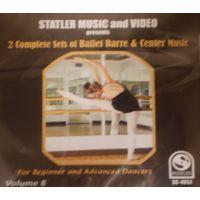 SCD4051 2 COMPLETE SETS OF BALLET BARRE & CENTER MUSIC