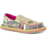 SGF10517-CFL Scribble II Camo/Floral Slip-On Casual Sanuk Girls Shoes