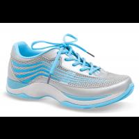 4201-931919 SHAYLA Silver/Blue Dansko Metallic Athletic Ladies Shoes