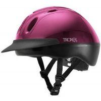 Spirit Fuschia Adjustable Fit Durable Riding Helmet