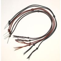 STS-310 Brown Leather Western Express Stampede Strings