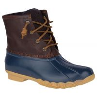 Sperry Tan/Navy Saltwater Womens Duck Boots STS91175