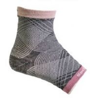 Sockwell Charcoal Womens Plantar Sleeve SW6W
