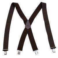 TA450N Black 2 Inch Wide Adjustable Straps Suspender