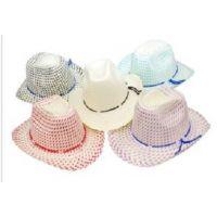 TOD1 Natural Straw Toddler Western Cowboy Hats -OSFA