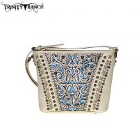 Trinity Ranch Tooled Leather Collection Cross Body TR38-8287