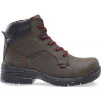 Wolverine Dark Brown Merlin ESD Composite Toe Mens Work Boots W10501