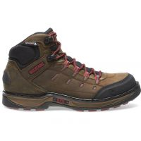 Wolverine Brown/Red Edge LX EPX Waterproof Carbonmax Mens Work Boots W10552