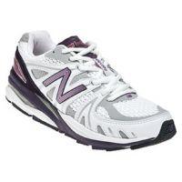W1540WP1 White/Purple Optimum Control Womens Running Shoes