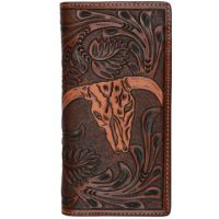 3D Belt Tan Western Rodeo Mens Wallet W905