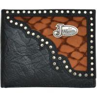 Justin Black Western Bifold Wallet WJS185