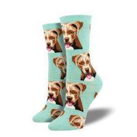 SockSmith Mint Green Womens Pit Bull Socks WNC1529