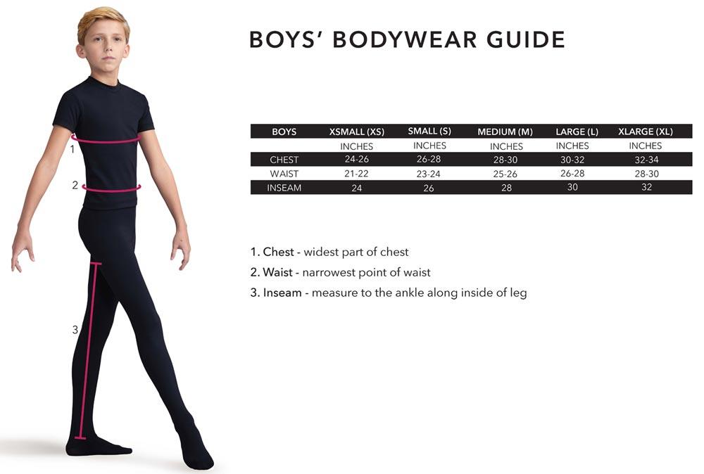 Capezio Boys Bodywear