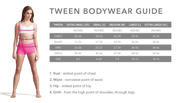 Capezio Tween Bodywear