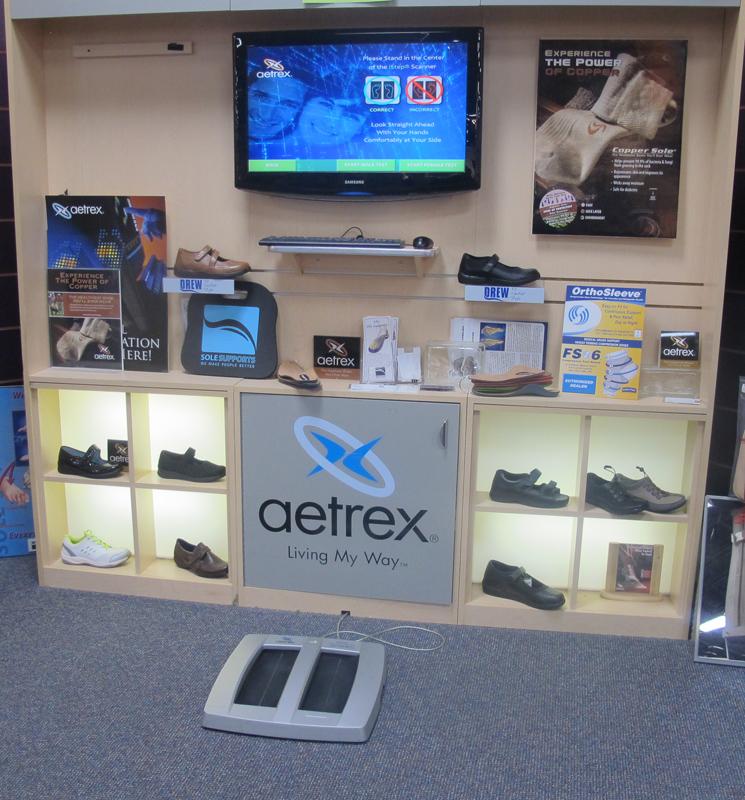 Aetrex iStep Machine