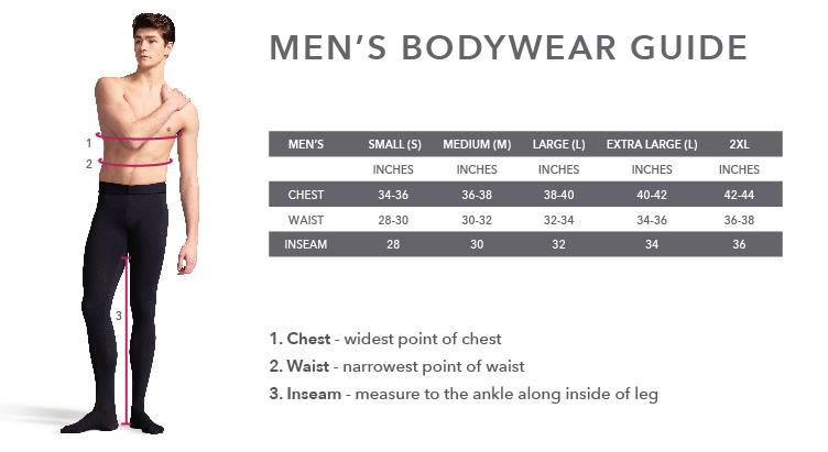 Capezio Men Bodywear